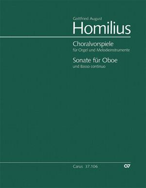 Homilius: Sämtliche Choralvorspiele