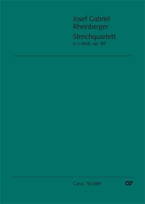 Rheinberger: Streichquartett Nr. 1 (2 Fassungen)