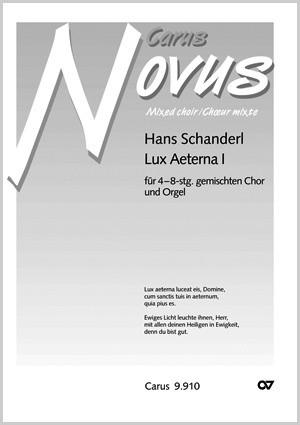 Schanderl: Lux aeterna I