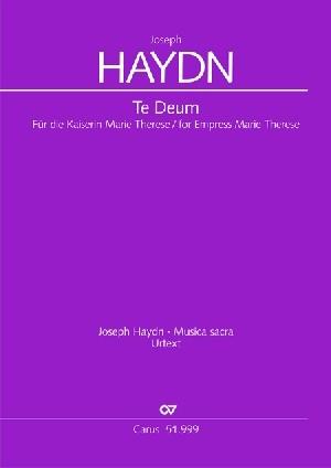 Haydn: Te Deum for Empress Marie Therese Hob. XXIIIc:2