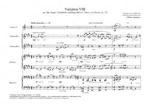 Reger: Variation VIII