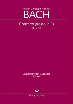 Bach, JCF: Concerto grosso per il Cembalo o Pianoforte (Concerto grosso für Cembalo oder Klavier) (BR JCFB C 43; Es-Dur)