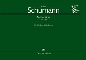 Schumann: Missa sacra (Op.147; c-Moll)