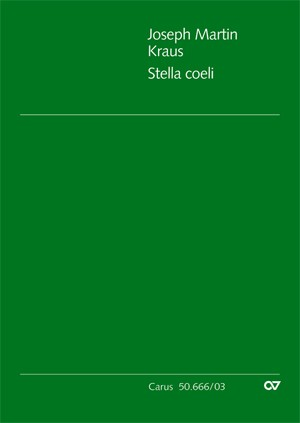 Kraus: Stella coeli (VB 10; C-Dur)