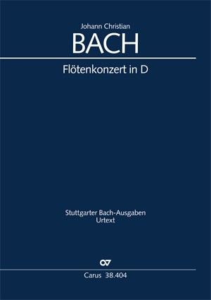 Bach, JC: Concerto per il Flauto traverso in D / Flötenkonzert in D (Warb C 79; D-Dur)