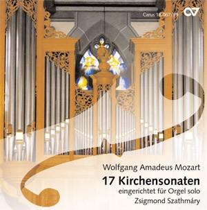 Wolfgang Amadeus Mozart: Mozart: 17 Kirchensonaten für Orgel solo