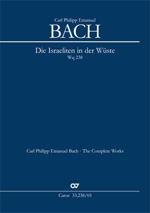 Bach, CPE: Die Israeliten in der Wüste Wq 238