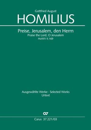 Homilius: Preise, Jerusalem, den Herrn