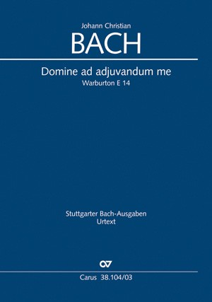 Bach, J.Cn.: Domine ad adiuvandum me festina