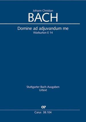 Bach, J.Cn.: Domine ad adiuvandum me festina E14