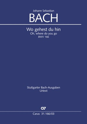 Bach: Wo gehest du hin?