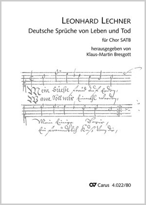 Lechner Leonhard Deutsche Sprüche Von Leben Und Tod