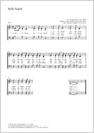Gruber, Franz Xaver: Stille Nacht