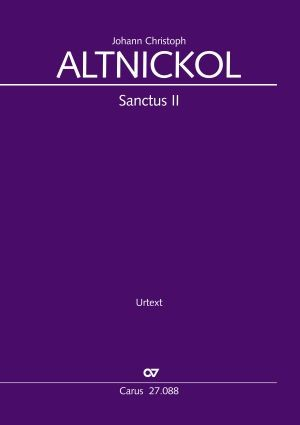 Altnickol: Sanctus II