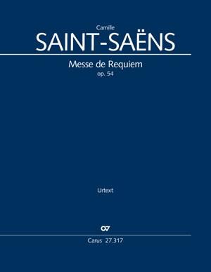 Saint-Saëns, Camille: Messe de Requiem, op. 54