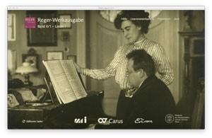Reger, Max: Reger-Werkausgabe, Bd. II/1: Lieder 1