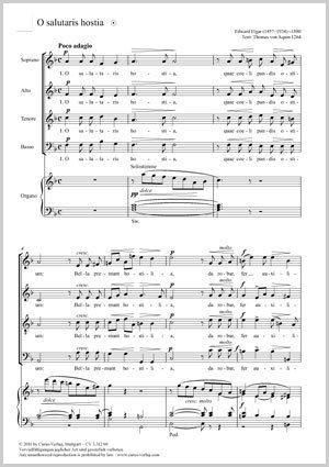 Elgar, Edward: O salutaris hostia