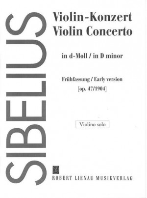 Sibelius Violin Concerto In D Minor Op 47 Page 1 Of 2 Presto