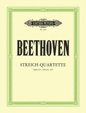 Beethoven: String Quartets, complete Vol.3