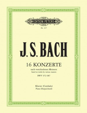 Bach, J.S: Concertos after Marcello, Telemann, Vivaldi etc. Vol.3