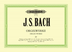 Bach, J.S: Complete Organ Works in 9 volumes, Vol.4