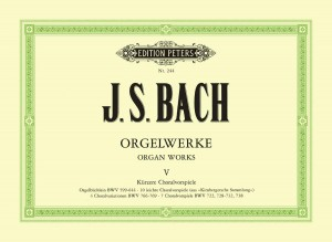 Bach, J.S: Complete Organ Works in 9 volumes, Vol.5
