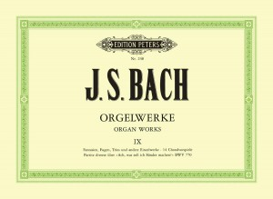 Bach, J.S: Complete Organ Works in 9 volumes, Volume 9