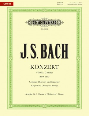 Bach, J.S: Concerto No.1 in D minor BWV 1052