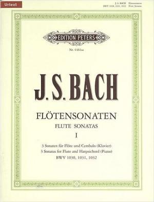 Bach, J.S: Flute Sonatas, Complete in 2 volumes, Vol.1