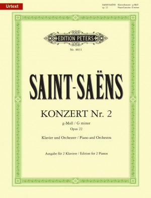 Saint-Saëns: Piano Concerto No  2 in G minor, Op  22 (page 1 of 2