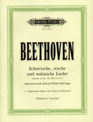 Beethoven: Selected Scottish, Irish and Welsh Folk Songs