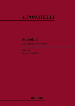 Ponchielli: Suicidio! (sop)