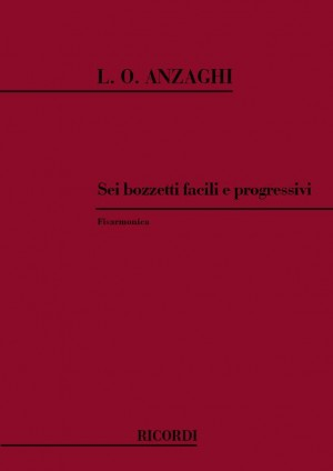 Anzaghi: 6 Bozzetti facili e progressivi