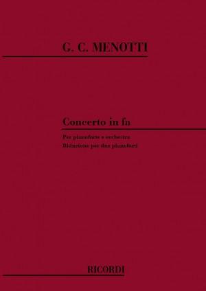 Menotti: Concerto in F major