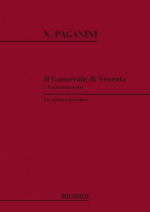 Paganini: Il Carnevale di Venezia