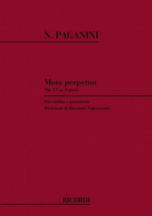 Paganini: Moto perpetuo Op.11, No.6 (ed. R.Tagliacozzo)