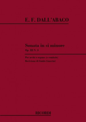 Dall'Abaco: Sonata for Strings and Orchestra in B minor