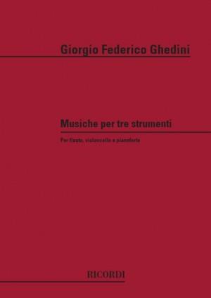 Ghedini: Musiche per 3 Strumenti