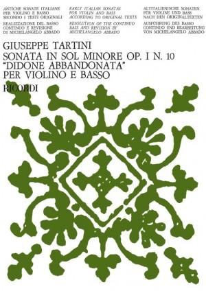 Tartini: Sonata Op.1, No.10 'Didone abbandonata' (ed. M.Abaddo)