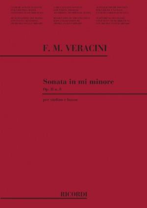 Veracini: Sonata Op.2, No.8 in E minor