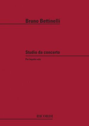 Bettinelli: Studio da Concerto