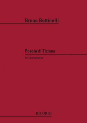 Bettinelli: Poesie di Tiziana