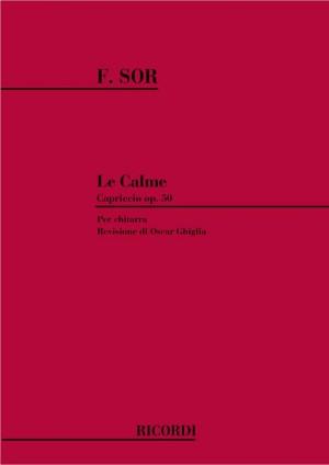 Sor: Le Calme Op.50