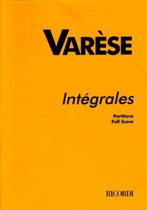 Varèse: Intégrales