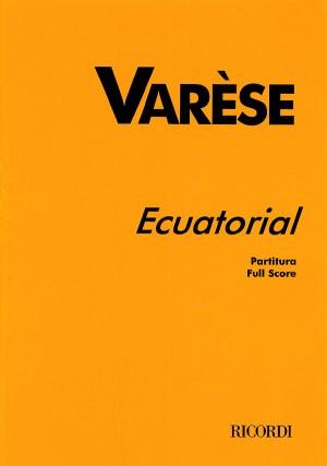 Varèse: Ecuatorial