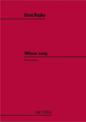 Rojko: Whose Song