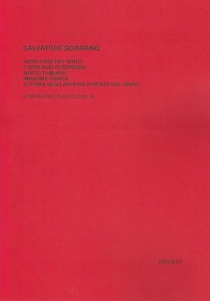 Sciarrino: L'Opera per Flauto Vol.2