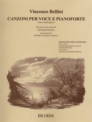 Bellini: Songs for Voice & Piano (low)