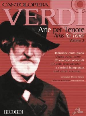 Verdi Arias For Tenor Allorto Instruction Books, Cds & Video Sheet Music & Song Books