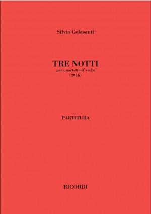 Silvia Colasanti: Tre notti